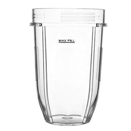 Gosear Accesorios de Pieza de Vaso de Repuesto de plástico Transparente de 18 oz Compatible con