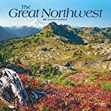 The Great Northwest 2021 12 x 12 Inch Monthly Square Wall Calendar, USA United States of America Scenic Nature