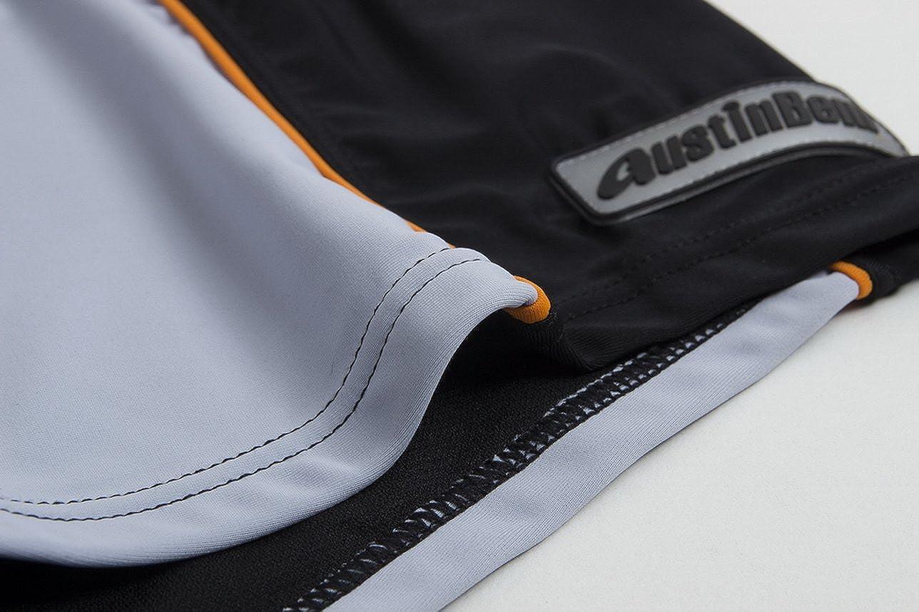 Austinbem Classical Patchwork Mens Swimwear Board Surfing Shorts 209