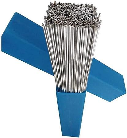 Flujo de Soldadura de Aluminio Baja Tem atura 20Pcs Varillas de Reparaci/ón de Grietas de Soldadura Varillas de Reparaci/ón de Aluminio Varilla de Soldadura de Aluminio
