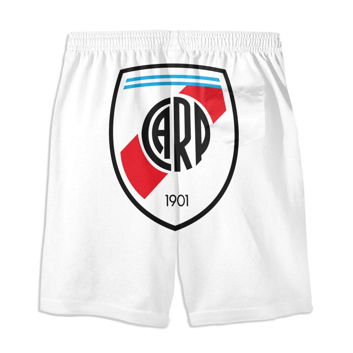 YOHHOY River Plate FC Teenager Boys Funny Swim Trunks Quick Dry Beachwear Shorts Waterproof Mesh Swimwear Bathing Suits