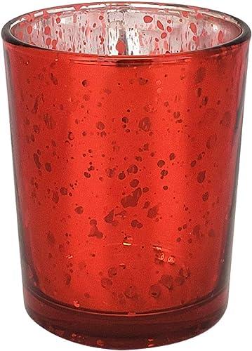 Just Artifacts Bulk Mercury Glass Votive Candle Holder 2.75″ H 100pc