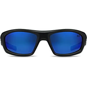 7134e82d7b Amazon.com  Under Armour Men s Captain Storm Polarized Rectangular ...