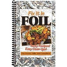 CQ Products Fix It In Foil Cookbook-