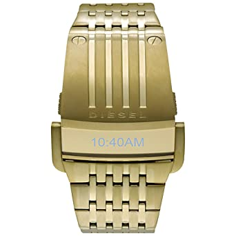 15eb247662 Buy Diesel Men's DZ7112 Digital Gold Tone Watch Online at Low Prices in  India - Amazon.in