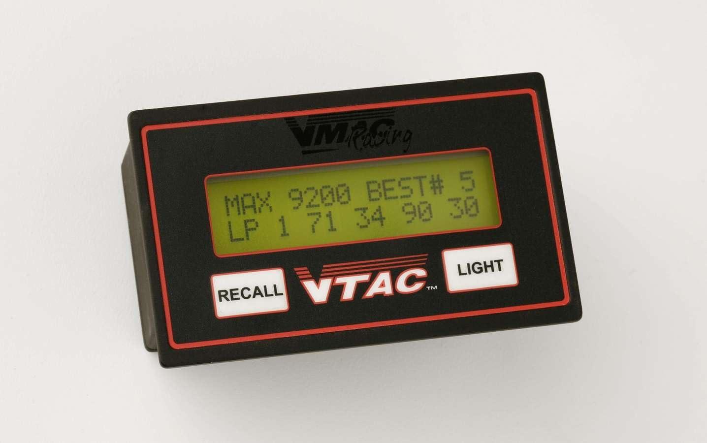 VMAC Racing Tachs R700810 DIGITAL RECALL TACH
