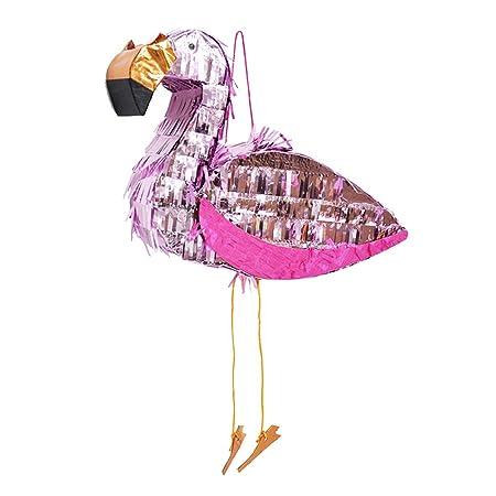 TOYANDONA Flamingo Papel de aluminio Flamingo Pinata ...