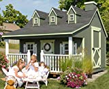 Little Cottage Company Pennfield DIY Playhouse Kit, 11\ x 10\