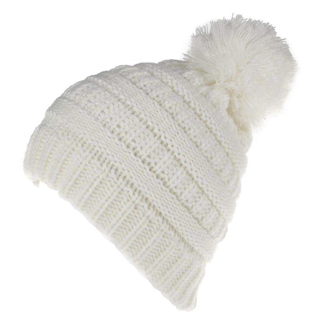 Zolimx Newborn Hats Cute Keep Warm Winter Knitted Hemming Hat BH-02