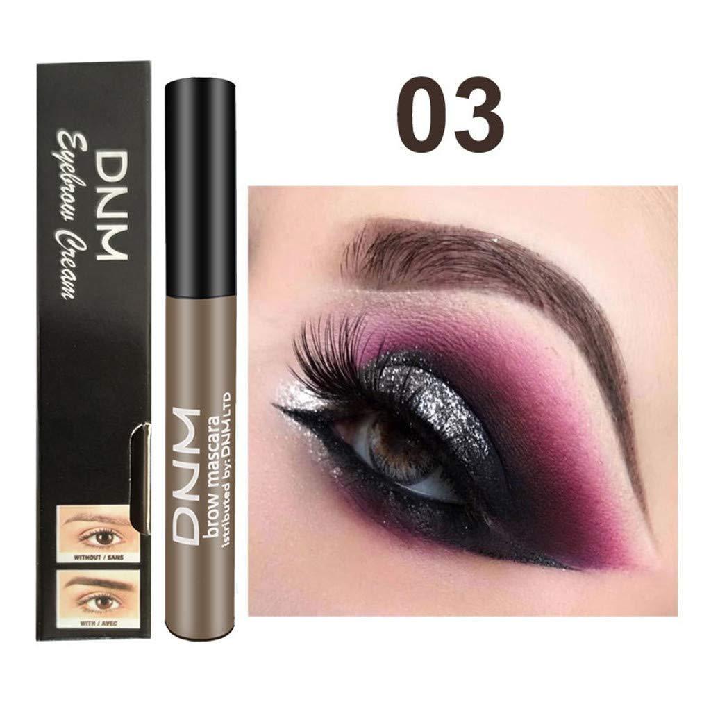 Eyebrow Dye Gel Waterproof Makeup for Eyebrow Long Lasting Tint Dye Cream,Waterproof,Smudge-Proof (Multicolor, 03)