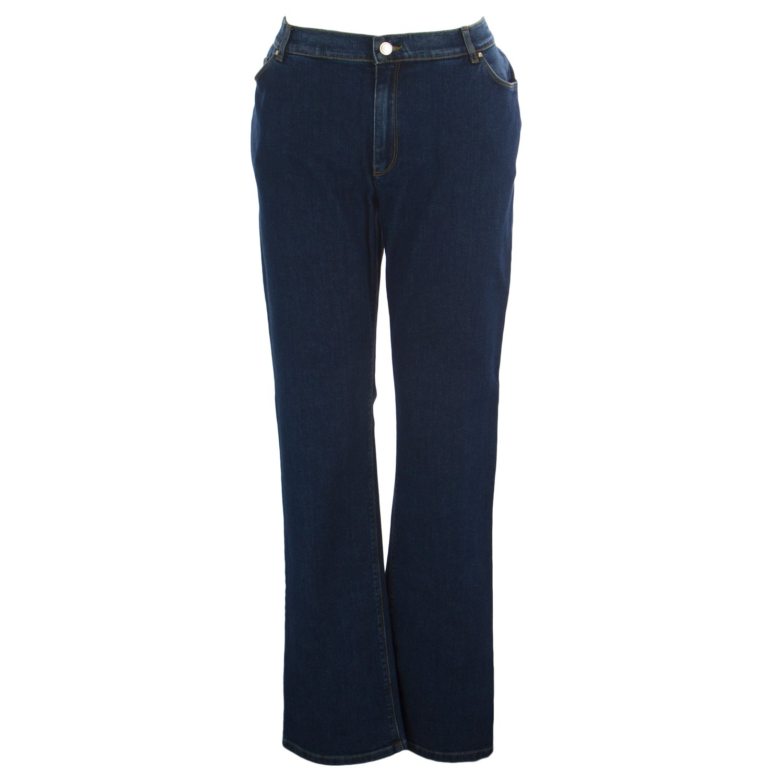 Marina Rinaldi Women's Indo Original Straight Jeans 20W / 29 Medium Wash