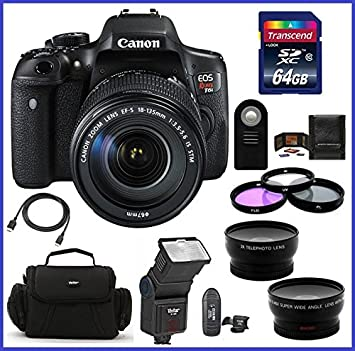 Amazon.com: Canon EOS Rebel T6i cámara réflex digital con ...