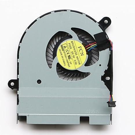 DXCCC Ventilador refrigerador de Repuesto para Ordenador portátil ...