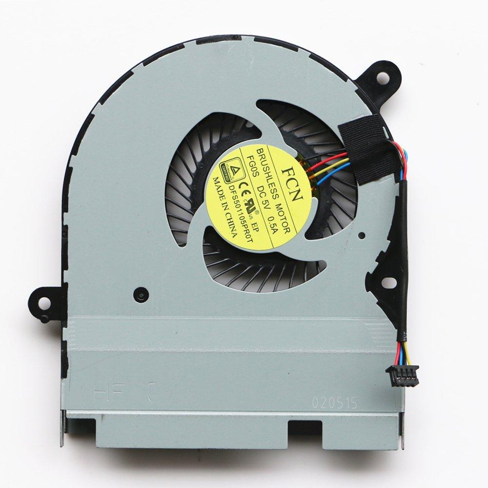 DXCCC Ventilador refrigerador de Repuesto para Ordenador portátil ASUS TP300 TP300L TP300LD TP300LJ TP300LN CPU Ventilador de refrigeración: Amazon.es: ...