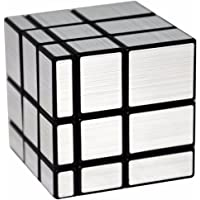 LSMY Mirror 3x3x3 Puzzle Cube Toy Argent