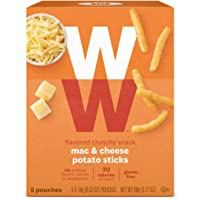 WW Mac & Cheese Potato Sticks - Gluten-free, 2 SmartPoints - 1 Box (5 Count Total) - Weight Watchers Reimagined