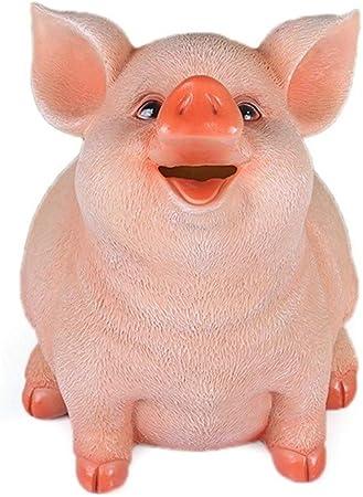 Huchas Ahorro Dinero Caja Resina de cerdo hucha banco de moneda caja de dinero de ahorro