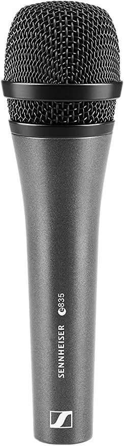 Sennheiser E 835 Cardioid Dynamic Microphone/reduced Proximity Effect: Amazon.co.uk: Musical Instruments