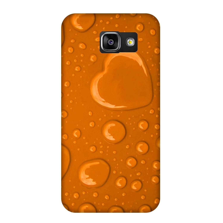 Carcasa Samsung Galaxy A5 (2016) - Coeur de lluvia Naranja ...