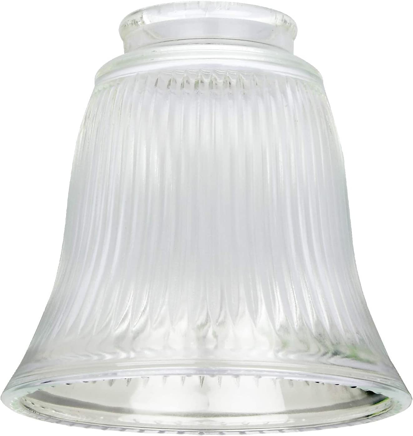 Westinghouse Lighting Tulipa Acampanada Estriada, Blanco: Amazon ...