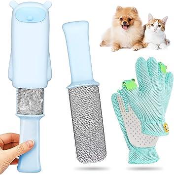 Cepillos Para El Pelo Guante Para Mascotas Cepillo Quitapelos De Perro Cepillo De Limpieza Para Perros Y Gatos Guante De Silicona Para Aseo De Mascotas Para Gatos Cepillo Para El Pelo Peine Limpieza