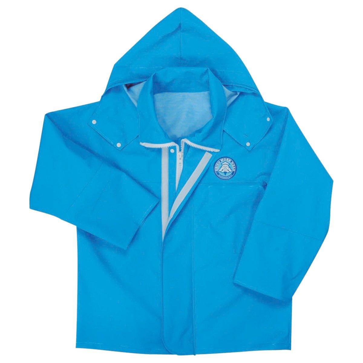 [エビス] レイン ジャケット RA-96 B008FDROYY S|ブルー ブルー S