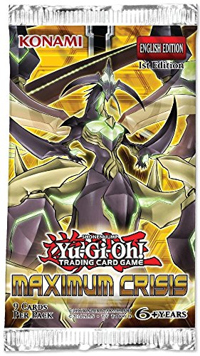 Yu-Gi-Oh Maximum Crisis Booster Pack Crisis Pack