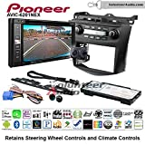 Volunteer Audio Pioneeer AVIC-6201NEX Double Din Radio Install Kit with GPS Navigation Apple CarPlay Android Auto Fits 2003-2007 Honda Accord (Factory climate controls)