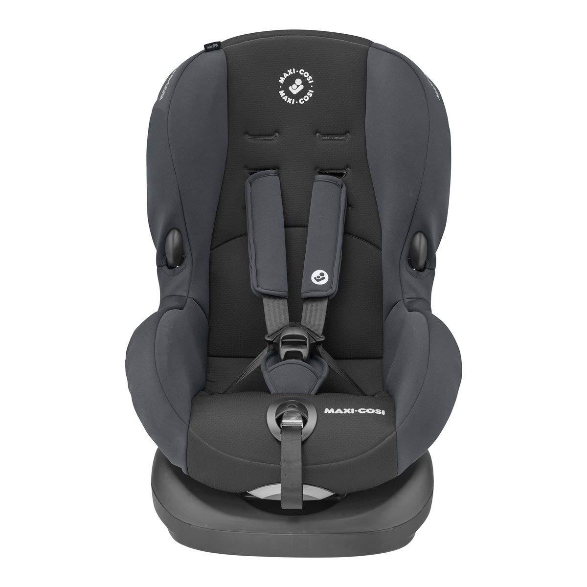 Kindersitz mit optimalen Seitenaufprallschutz und 4 Sitz- und Ruhepositionen Basic Black nutzbar ab 9 Monate bis 4 Jahre Gruppe 1 schwarz Maxi-Cosi Priori SPS 9-18 kg