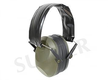 Sutter Protección auditiva, Negro * Cascos Protectores de oído Protector auditivo * Ideal para Tirar y Cazar: Amazon.es: Deportes y aire libre