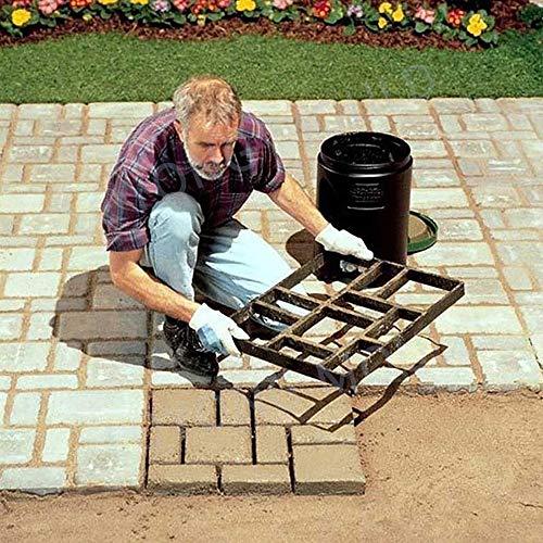 2DXuixsh Garden Walk Pavement Mold Concrete Mould DIY Manually Paving Cement Brick Stone Road Molds Pathmate - Stone Moulds