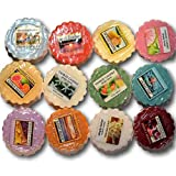 yankee candle wax melts - Yankee Candle Tarts Wax Melts - Spring & Summer Collection Sampler – Box of twelve (12) individually wrapped scents with no duplicates. Random assortment.