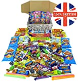Supersized 'Best of British' Retro Sweets Gift Hamper: 100% Made in Britain, Perfect to Share