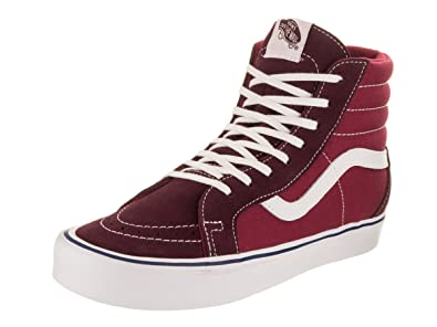 Vans Unisex Sk8-Hi Reissue Li (Throwback) Port Royal/Tibetan Red Skate