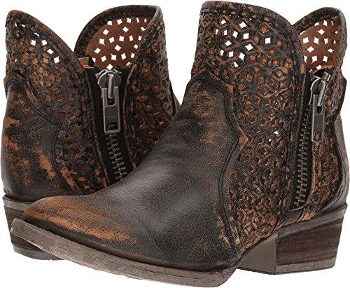 Corral Boots Women's Q5021 Black/Yellow 7.5 B US
