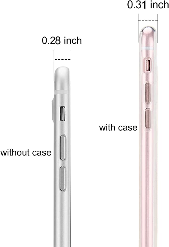 Custodia iPhone 7 APICI Morbido Protettiva TPU Case Cover