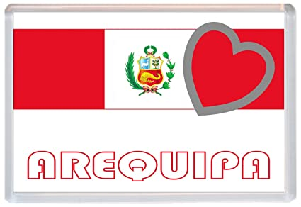 Arequipa - amor Perú/peruano bandera ciudades y ciudades - Jumbo ...
