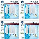 GE Energy-Smart Soft White CFL Candelabra Base, 14W Light Bulbs (60 Watt Equivalent) (14.0 Watt) (12 Bulbs)