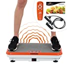 Vibro Shaper Vibrationsplatte Ganzkörper Trainingsgerät rutschfest große Fläche inkl Trainingsbänder Ernährungsplan das Original von Mediashop