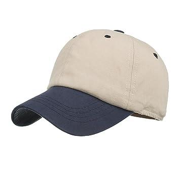 Mounter Gorra de béisbol ajustable unisex con pico de sándwich, sombrero de playa para hombres