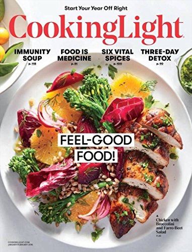 Magazines : COOKING LIGHT Magazine