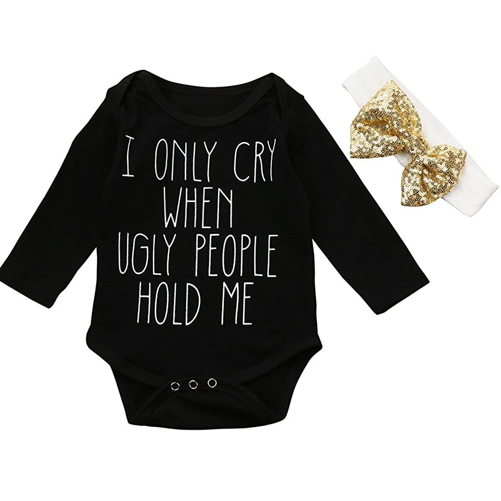 Overdose Baby Boys Girls of Course Im Adorable Onesies Outfits