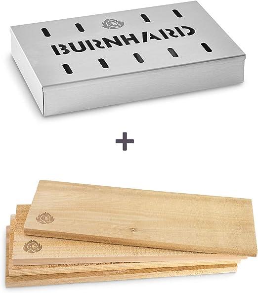 Incienso Set Barbacoa 3 piezas, incluye caja de acero inoxidable ...