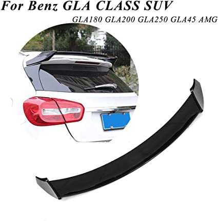 AMG style roof spoiler for GLA class X156 2016-2018