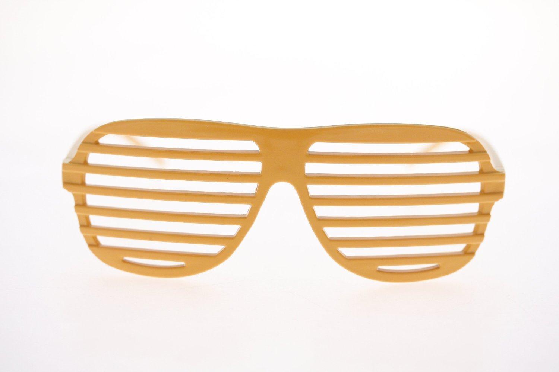Lunettes de soirée, disco lunettes oranges party de luxe Kanye West des  USA  Amazon.fr  Jeux et Jouets 556efa88b460