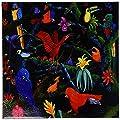 3dRose Steve Shachter Art - Rainforest Birds - Tiles