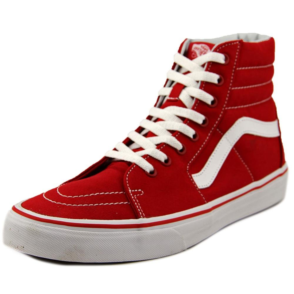 Vans Sk8-Hi Unisex Casual High-Top Skate Shoes, Comfortable and Durable in Signature Waffle Rubber Sole B00RPQS93M 3.5 D(M) US Mens / 5 B(M) US Womens|(Canvas) Formula One