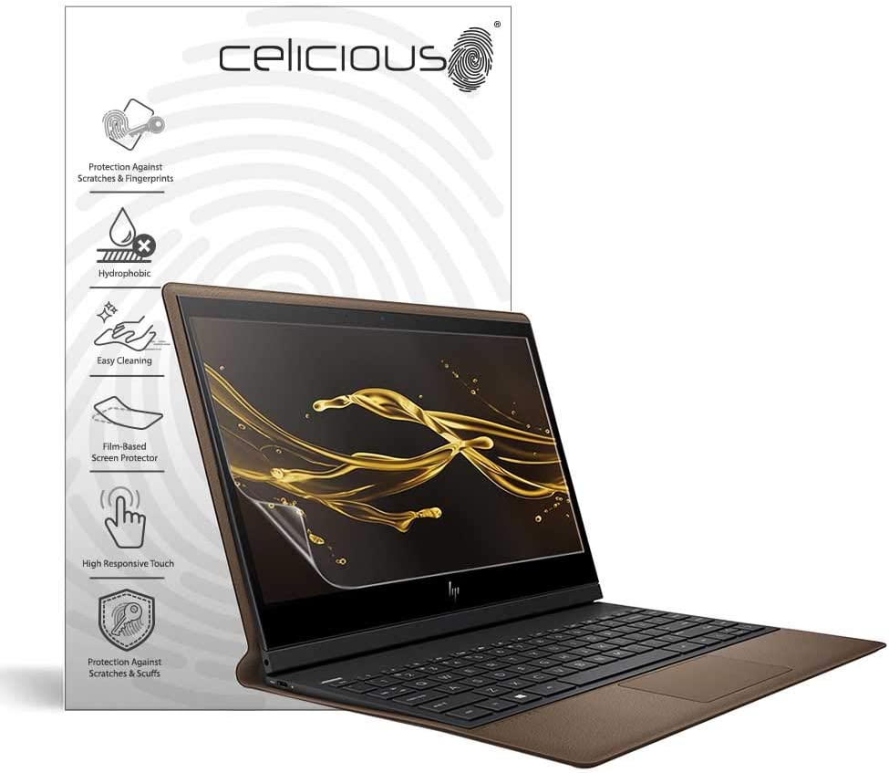 Celicious Impact Anti-Shock Shatterproof Screen Protector Film Compatible with HP Spectre Folio 13 AK0001NA