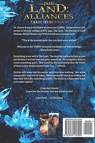Land Of Dead Will Continue To Welcome >> Amazon Com The Land Alliances A Litrpg Saga Chaos Seeds Volume