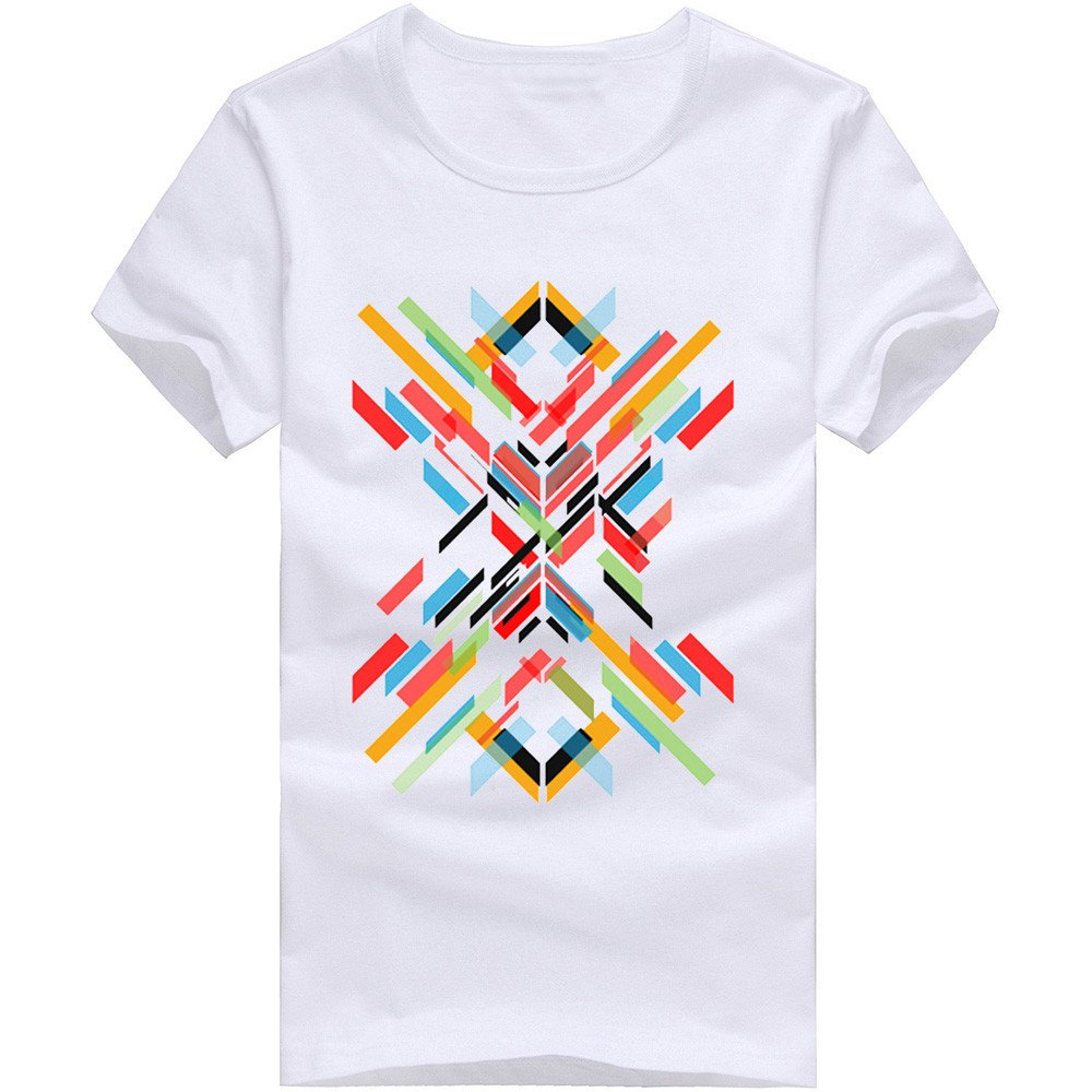 Modal Shirt,O Neck Blouse,Multicolor Print Top,Summer Breathable Tee,Lightweight Tunic Tops,Male Fitness Workout Athletic Short Sleeve WNGO Loose Gym Running Sportswear Casual Boys Owl Sweatshirt